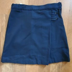 Lands end girls skirt